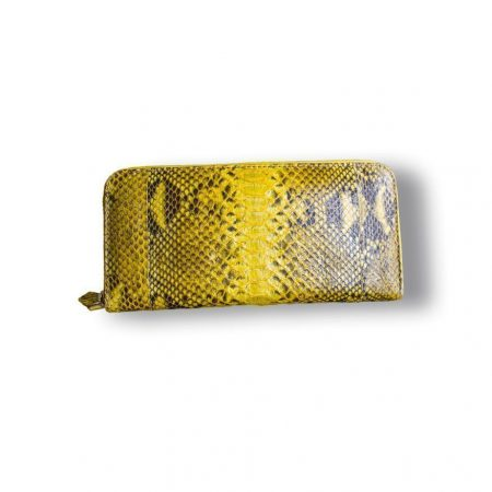 CARTERA ESTAMPADA AMARILLO-GRIS