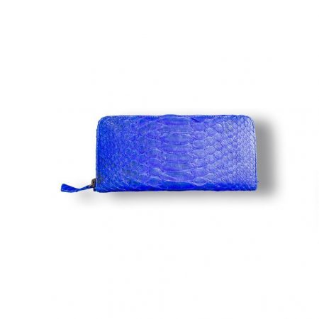 CARTERA ESTAMPADA AZUL ROYAL